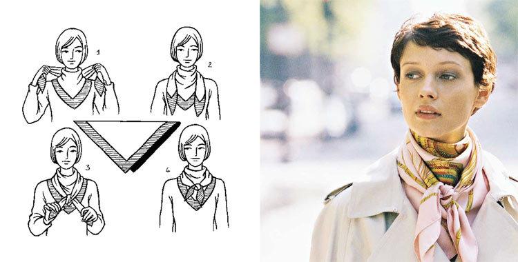 платок на шею