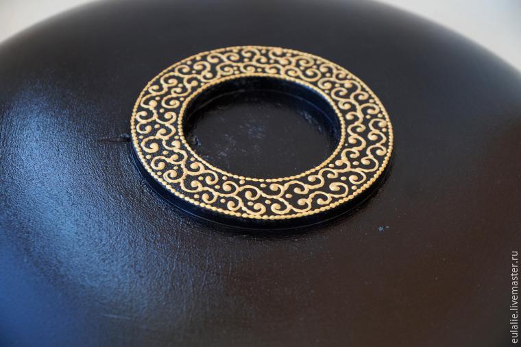 Мастер-класс по точечной росписи: тарелка-панно «танцующий Шива», фото № 25