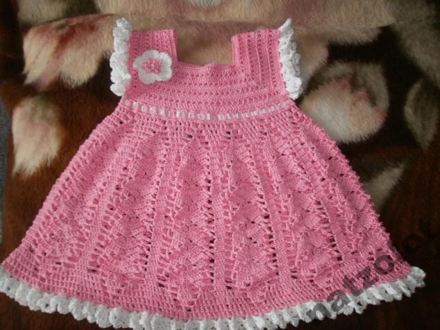 вязаное платье, нарядное платье, на заказ, красивое вязаное платье, вязаное детское платье, красивое платье крючком