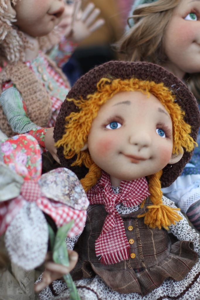 Международной выставка авторских кукол и мишек «Панна DOLL'я» в Минске. Часть 1., фото № 27