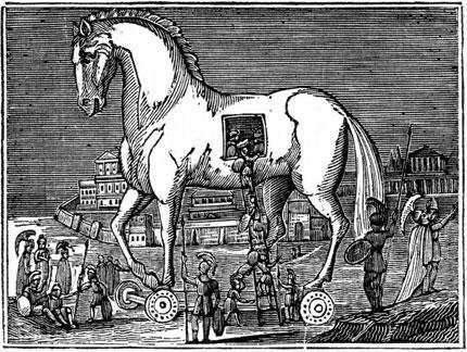 лошадь, деревянная лошадка, деревянная лошадь