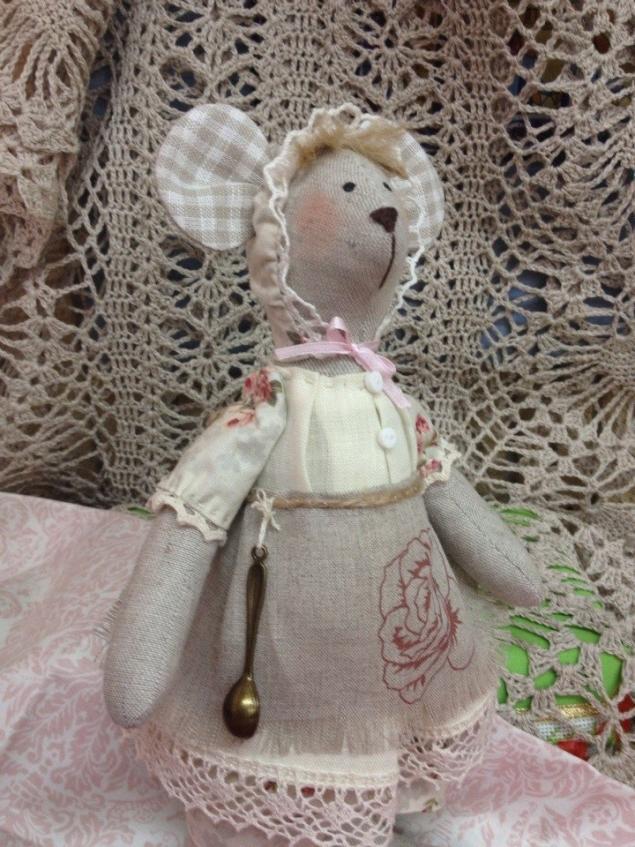 заяц тильда, текстильная кукла