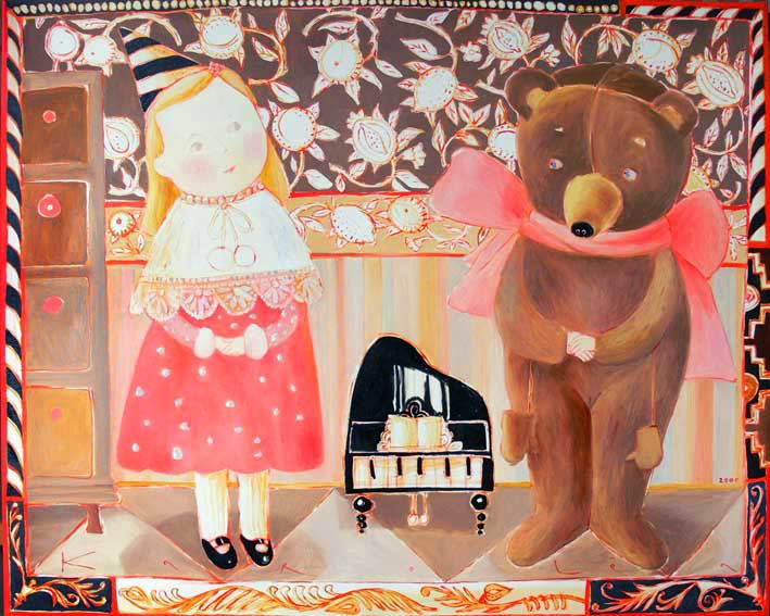 Путешествие в детство с белорусской художницей Анной Королёвой, фото № 4
