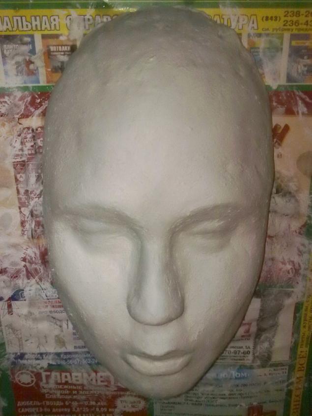 Изготовление венецианской маски с перьями.Техника папье-маше., фото № 1