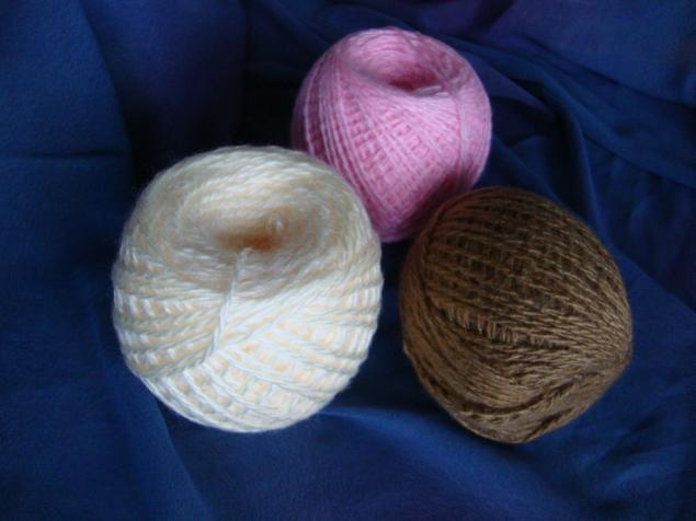 полушерсть, нитки для вязания