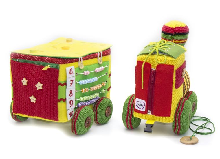 паровоз, развивающая игрушка, раннее развитие