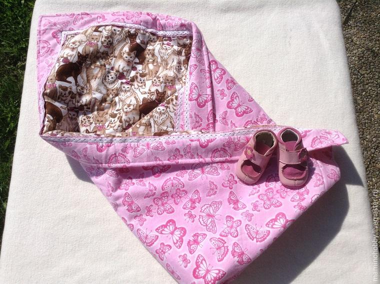 Шьем двустороннее байковое одеялко за 20 минут, фото № 43