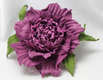 цветы ручной работы, цветоделие, брошь цветок, кожаная флористика, обучение цветоделию, мастер-класс