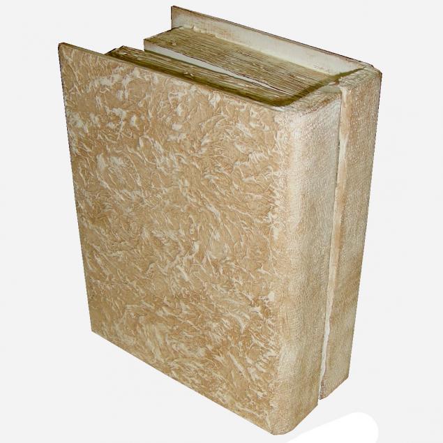 Старинная книга в коже, фото № 1