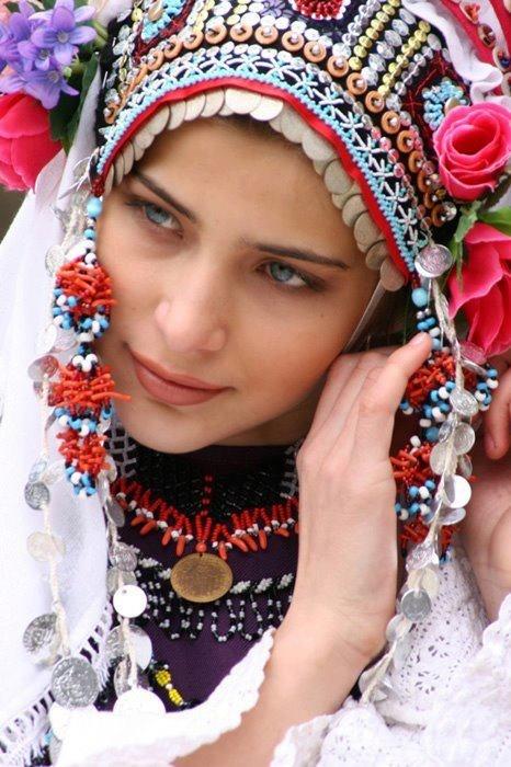 Traditional Bulgarian Costume.
