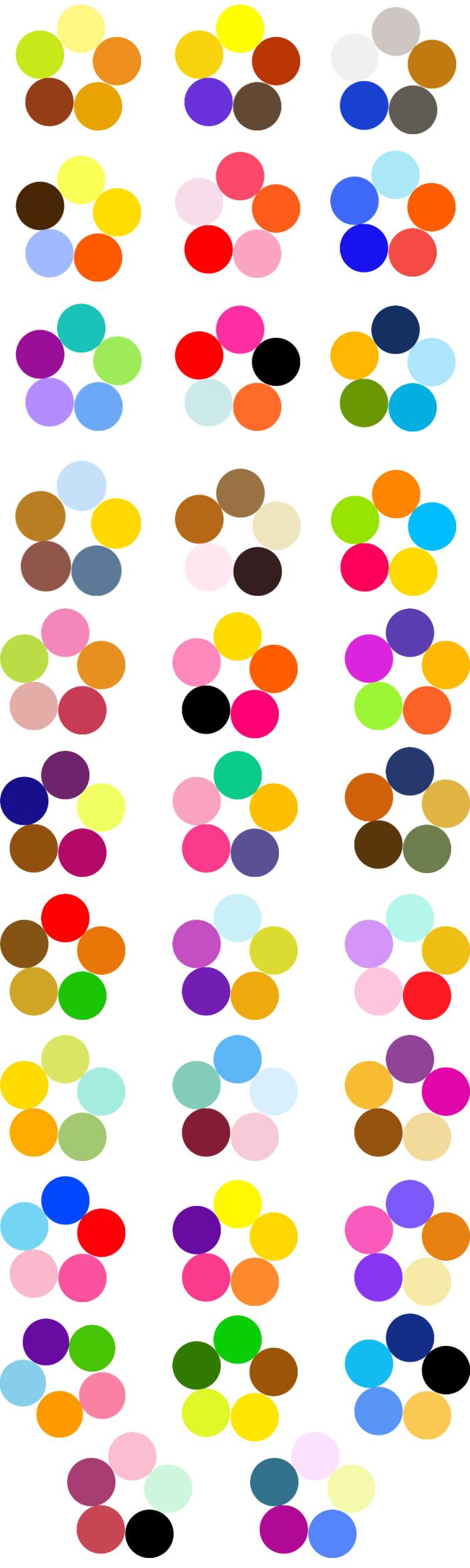 Цветовой Круг Иттена для создания гармоничных цветовых комбинаций, фото № 10