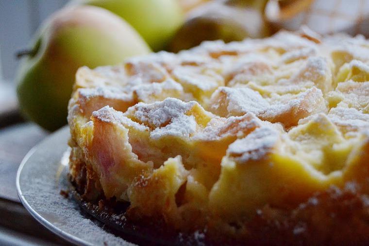 лето, рецепты, яблочный спас, пирог, флонярд