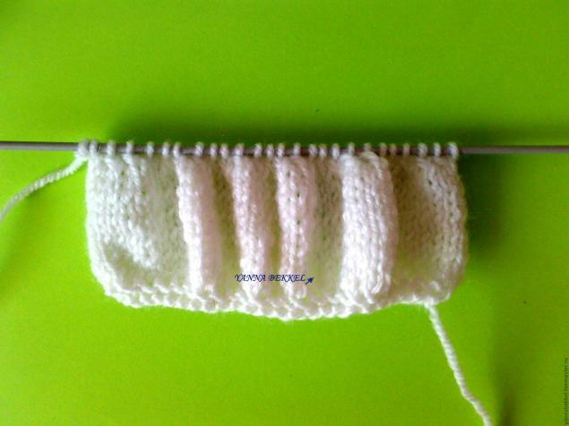 Вяжем повязку на голову «жатка», фото № 5