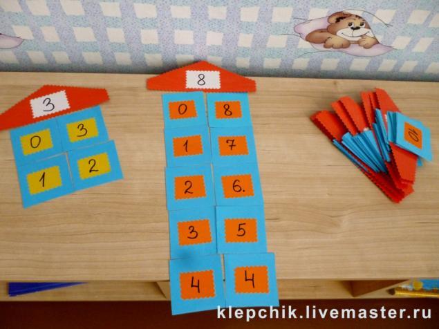 Игры по математике сделаны своими руками
