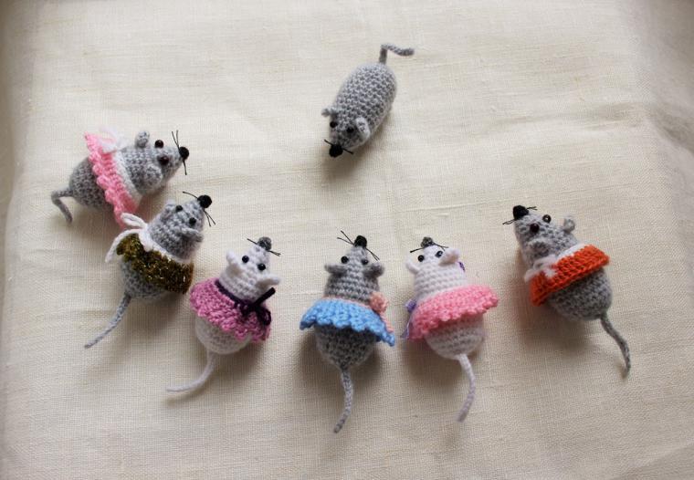 мк по вязанию крючком амигуруми мышка ярмарка мастеров