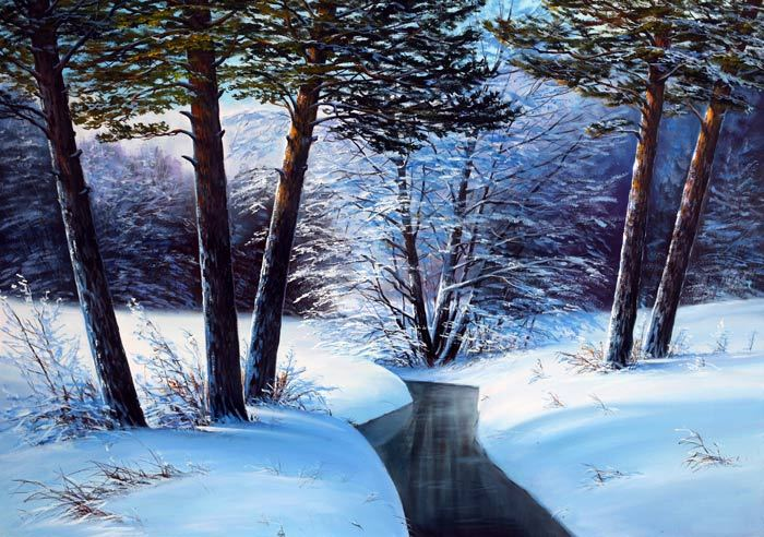 Белых Алексей. Тёплая зима