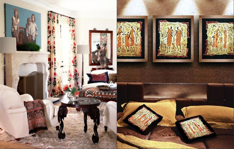 魔法绣 第四部分: 刺绣在现代居室的运用 - maomao - 我随心动
