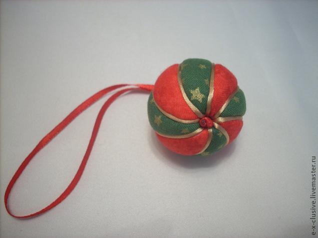 Елочные шары в технике кимекоми, фото № 18