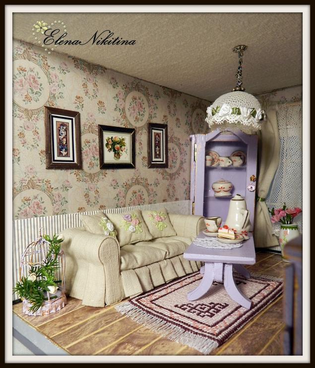 Кукольный дом. Двухкомнатный коттедж., фото № 11