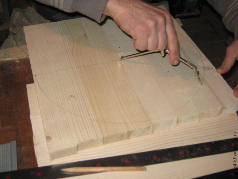 Подносы деревянные своими руками круглые