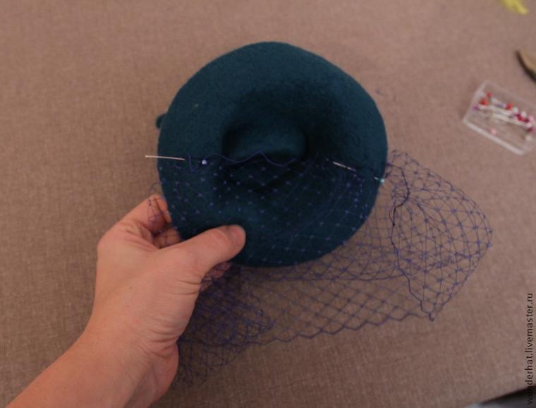 валяная шляпка