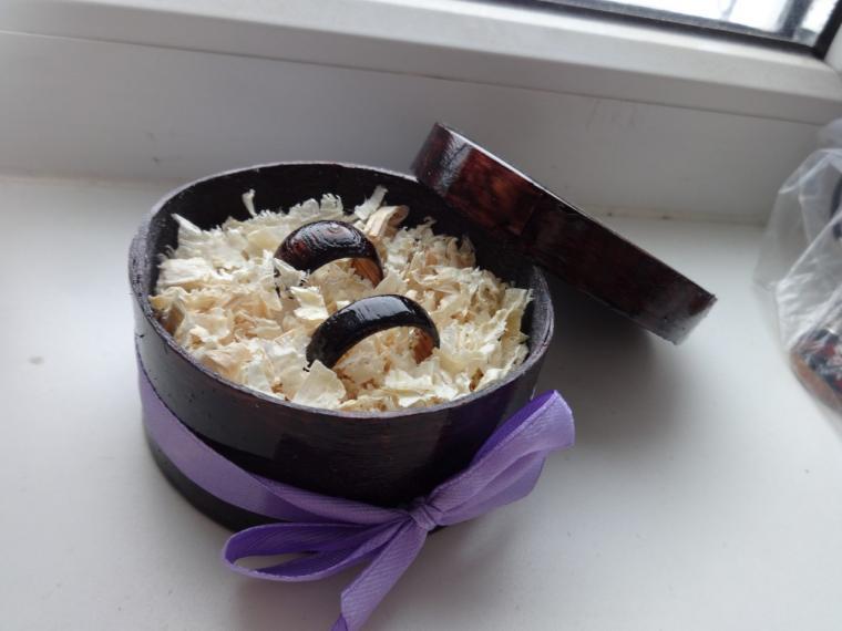 подарки, деревянные кольца, 8 марта