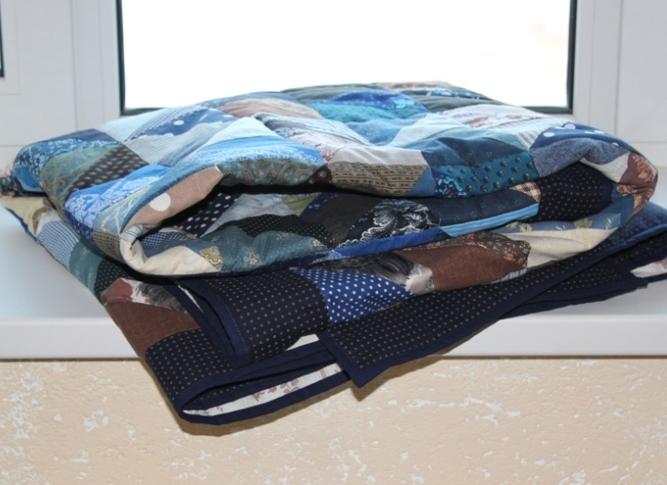лоскутный плед, лоскутное шитье, подарок на 23 февраля, для загородного дома