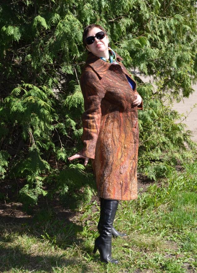 пальто, коричневое пальто