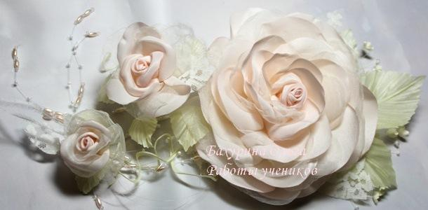 мастер-класс, цветы ручной работы