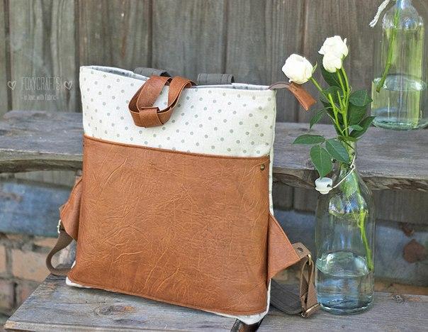Рюкзак мастер-класс рюкзаки городские заказать онлайнi