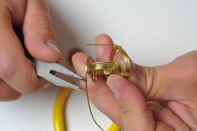 Властелин колец, или Как создать перстень из одного цельного куска проволоки, фото № 25