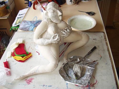 Куклы из керапласта своими руками 68