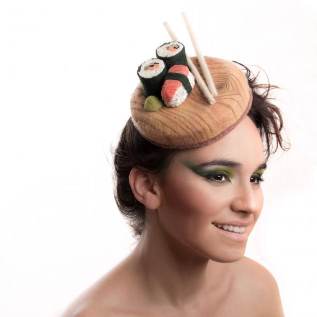 На закуску! Невероятные шляпки Maor Zabar, фото № 2