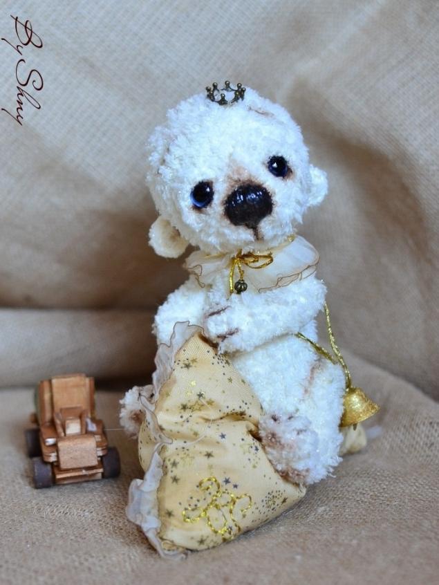 аукцион, аукцион сегодня, игрушка, мишка тедди, белый мишка, вязаный мишка, принц, подушка, акция, торг, торги, развлечение