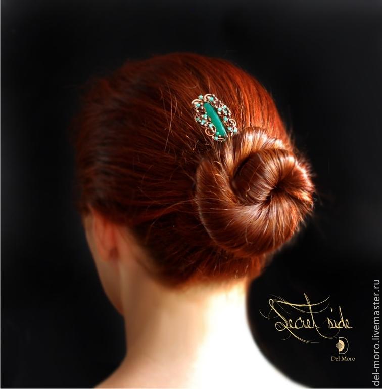 гребни, шпилька в волосах