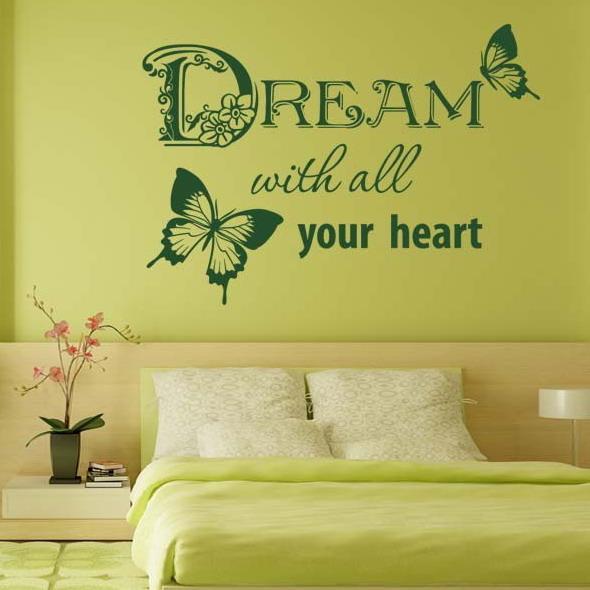 Мысли на виду! (или 60 идей декора стен с помощью слов, букв и цифр), фото № 28