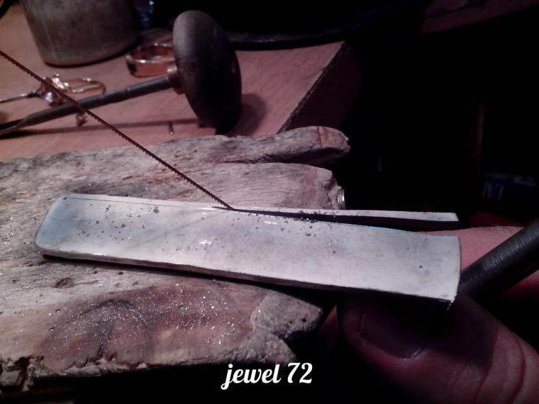 Делаем стильное кольцо из серебра, фото № 5