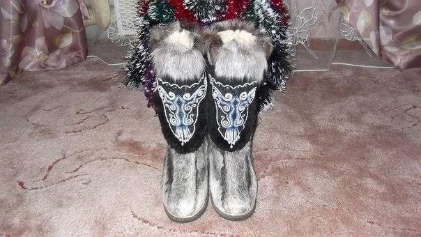 унты, холод, авторская обувь