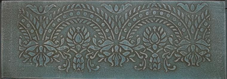 Тиснение орнамента на мебели. Мастерская Натальи Строгановой. Отчет. Часть 2, фото № 23