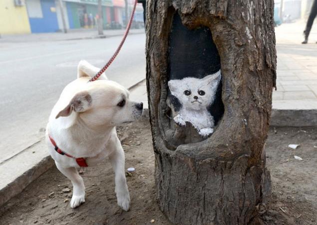 Tree-art, или Роспись деревьев, фото № 7