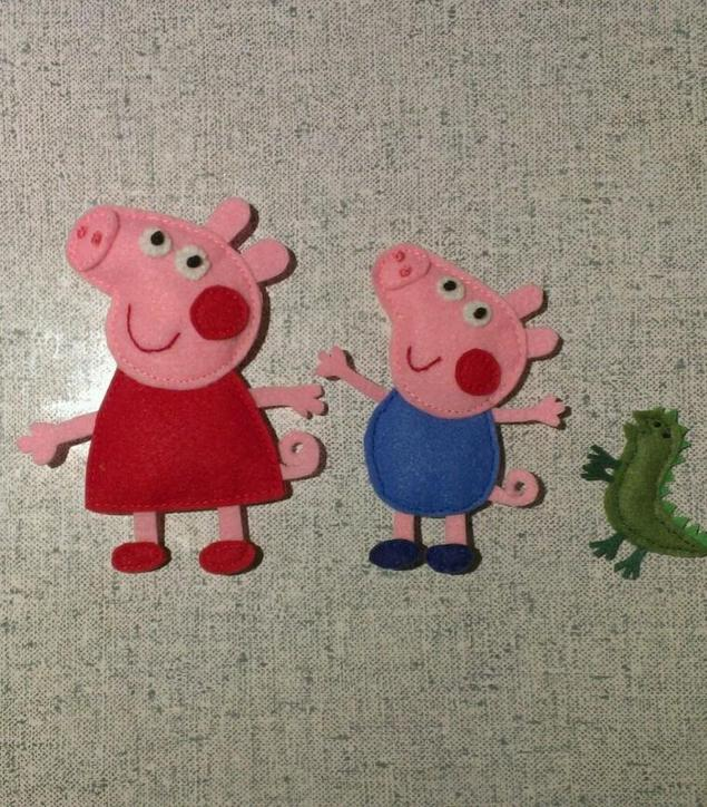 Как пошить детскую игрушку свинка пеппа