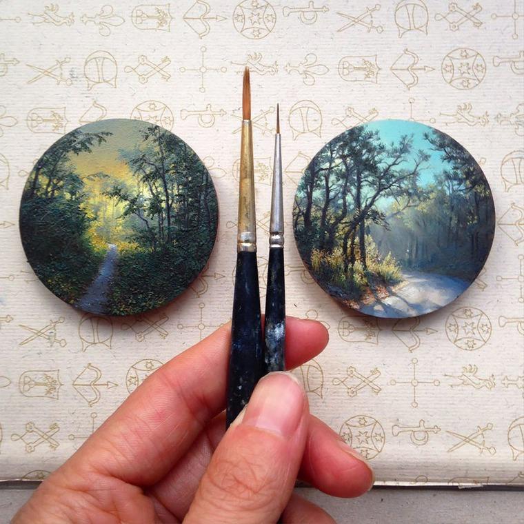 миниатюрная живопись