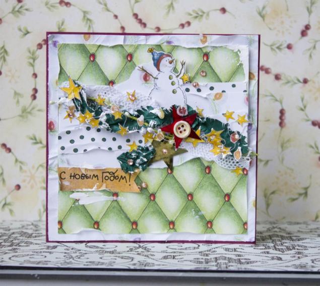 открытки на новый год, новый год, открытка