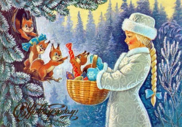 Добрые советские открытки. С Новым годом!, фото № 13