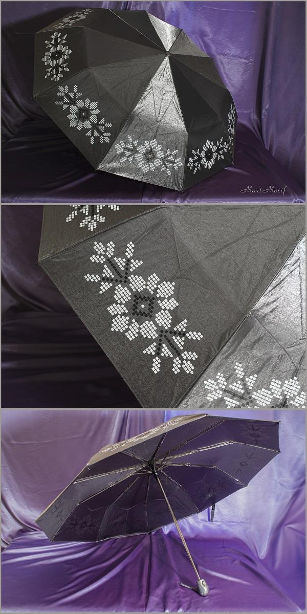 зонтик, зонт с росписью