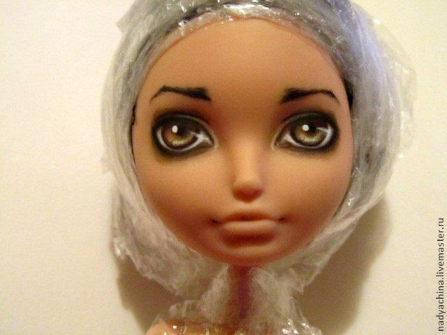 перерисовка лица куклы, фото № 12