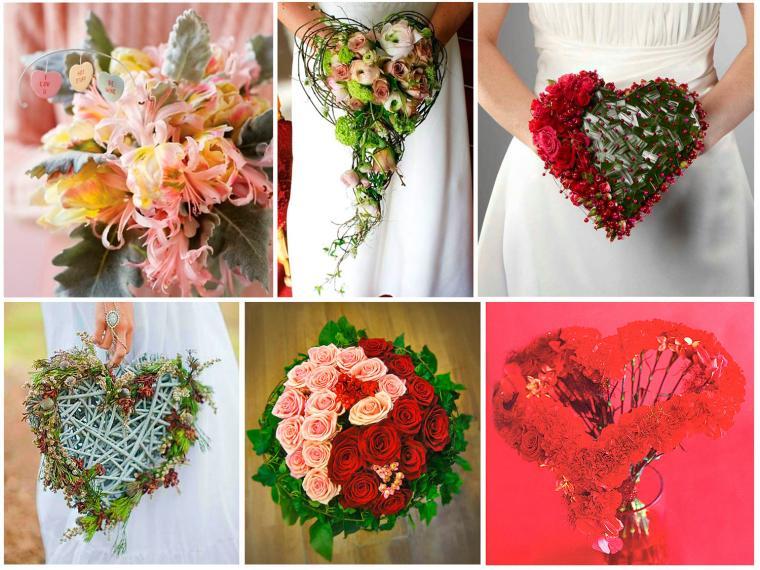 день влюбленных, подарок девушке, сердце из цветов, композиция сердце