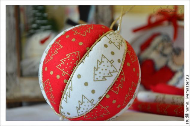 Мастер класс новогодние шары из бумаги своими