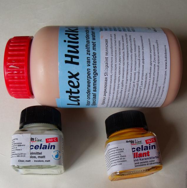 Краска своими руками для керамики