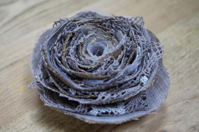брошь-цветок, винтажные украшения, роза, подарок на 8 марта
